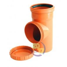 Ревизия ПВХ для наружной канализации