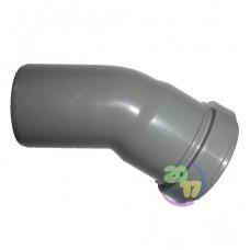 Колено ППР для внутренней канализации 30°