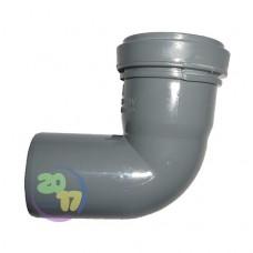 Колено ППР для внутренней канализации 90°