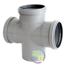 Крестовина ППР для внутренней канализации