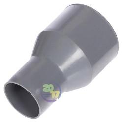 Переход ППР с чугуна на пластик Ду 50х72 мм. для внутренней канализации