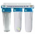 """Система трехступенчатой очистки воды SL 103 1/2"""" Bio+ Systems"""
