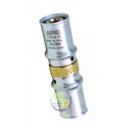 Муфта промежуточная переходная APE Ду 20х26 мм. для металлопластиковых труб