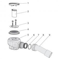 Сливное оборудование Domoplex Viega